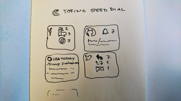 tofino-speed-dial